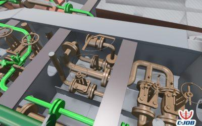 Simplified 3D model